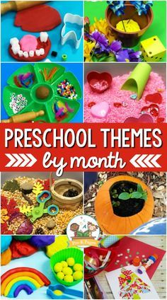 The Best Preschool Monthly Themes - Pre-K Pages