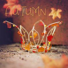 4seasons autumn crown beads wire