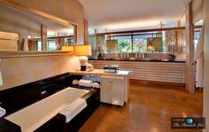 Trendy bathroom - image