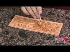 Learning Leathercraft with Jim Linnell, Lesson 2: Using A Swivel Knife - YouTube