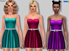 Margeh-75's Sims 4 Zara Dress