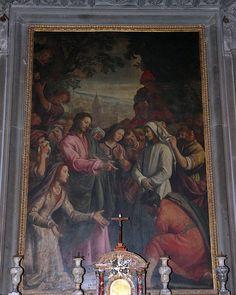 Santi di Tito (1536-1603) - Resurrezione di Lazzaro (Volterra) - Duomo di Volterra