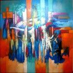 TELAR ANDINO encuentr esta obra en http://liemzosycuadros.com #arte #oleo #artista #exposicion