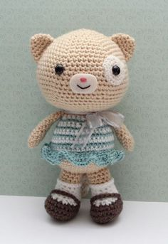 Amigurumi Cat Doll  Lottie Cat by littlemuggles on Etsy, $45.00