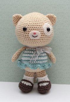 Amigurumi Cat Doll  Lottie Cat by littlemuggles on Etsy, $45.00