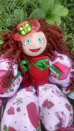 Strawberry Shortcake Doll Potpourri Filled by MTDesignsCrafts, $16.00