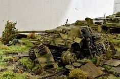 Photo 2 - Pz.Kpfw. IV Ausf. G. Kind regards from Zveroboy | Dioramas and Vignettes | Gallery on Diorama.ru