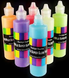 Next Generation SUPER Glow in the Dark (And Blacklight) Paint (Assorted Pack of 6) BeWild,http://www.amazon.com/dp/B009UWSU92/ref=cm_sw_r_pi_dp_lXudtb10762JW10R