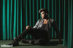 Adam Lambert photographed by Ramona Rosales on July 22, 2015 at the Palihotel in Los Angeles.