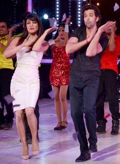 "Bollywood Dance: Priyanka & Hrithik on the sets of ""Jhalak"""