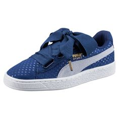 best authentic 0446b f01c1 PUMA Womens Shoes - Chaussure Basket Heart Denim pour femme - Find deals  and best selling products for PUMA Shoes for Women