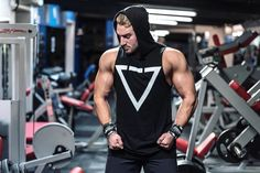 Released at 5pm tomorrow. The Men's Sleeveless Hoodie 39 Available from GYMVERSUS.com @jameswhippfitness shot by @thomashartnett_ in Physique Warehouse. Shape Your Future #gymversus #shapeyourfuture #activewear #luxe #sportswear #athleisure #fashion #performance #style #london #clothing #apparel #health #fitness #fit #fitnessmodel #model #girl #fitspo #photooftheday #selfie #active #strong #motivation #instagood #determination #lifestyle #diet #cheatday #exercise