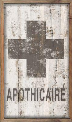 APOTHICAIRE apothecary bathroom decor kid's by DesignHouseDecor