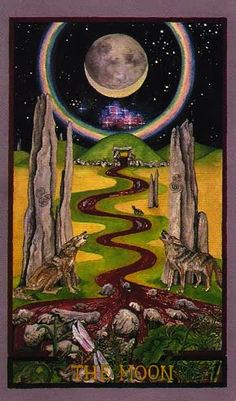 The Moon Wheel of Change tarot