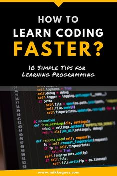How can you learn coding and web development faster? Use these practical and simple learning tips and strategies to achieve your tech career and coding goals faster. Pick the right tools, programming Learn Coding Online, Learn Computer Coding, Learn Computer Science, Computer Programming Languages, Learn Programming, Python Programming, Coding Languages, Programming Humor, Technology Hacks