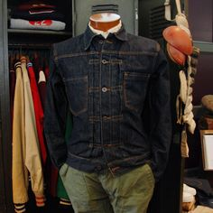 BKc X Nisus Hotel Selvedge Denim Jacket (Rinse Wash)