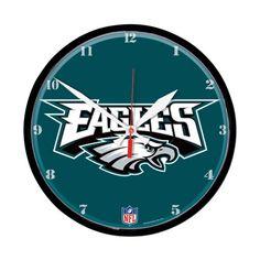 Philadelphia Eagles Round Wall Clock