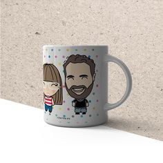Rite Rite: Tazas para una pareja. Marian y Adrián