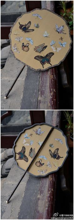 Traditional Chinese fan, from Li Jing weiblog