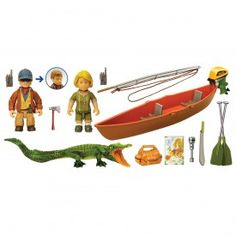 """Swamp People play set--I didn't think this was for real, but you can buy it at the History Channel store.  Your kids will have fun saying """"Choot 'em!"""". I gotta get this for my kids!"""