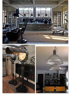 decoration industrial,decoration industrielle, decoración industrial