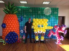 Sponge bob balloon scenario!