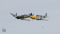 spitfire P51 mustang goodwood 2015
