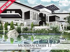 Modern Oasis 17 - The Sims 4 Catalog
