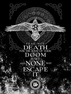 Vikings show gear - Until valhalla Norse Pagan, Viking Symbols, Norse Mythology, Viking Life, Viking Warrior, Wisdom Quotes, Quotes To Live By, Me Quotes, Qoutes