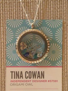 In Memory of MOM with accent stones and hummingbird  http://tinac.origamiowl.com/