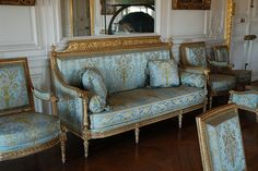 french country music room | Louis XVI & French Chairs Photo Credit Rappy's Photostream