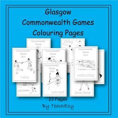 Take out Membership to TeachEzy for Great Value Teaching Resources Teaching Resources, Teaching Ideas, Commonwealth Games, Australian Curriculum, Preschool Ideas, Colouring Pages, Glasgow, Olympics, Celebrations