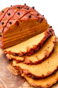 This easy vegan ham recipe will amaze you! Salty, smokey, mock meat made from seitan and roasted to perfection. It's sure to make a holiday meal special and it is perfect for a vegan ham sandwich! This mock meat is made from seitan aka wheat meat and it will surprise even the most skeptical eaters. #thehiddenveggies Vegan Ham Recipe, Vegan Beef, Best Vegan Recipes, Vegan Breakfast Recipes, Vegan Foods, Vegan Dishes, Whole Food Recipes, Cooking Recipes, Vegan Meals