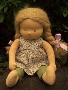 Waldorf Doll 14 Blond Lily by Waldorfdollshop on Etsy, £90.00