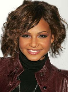 ... Styles: Celebrity Christina Milian Curly Hair Styles For Black Women