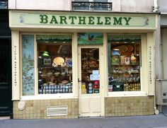 Barthelemy on rue de Grenelle  Is my favorite cheese shop in Paris