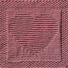 free knitting pattern heart washcloth dishcloth afghan square free knitting pattern heart washcloth dishcloth afghan square Record of Knitting Wool rotating, weaving and stitching jo. Knitted Squares Pattern, Knitted Washcloth Patterns, Knitting Squares, Dishcloth Knitting Patterns, Free Knitting, Crochet Patterns, Knitted Dishcloths, Baby Knitting, Knitting Wool