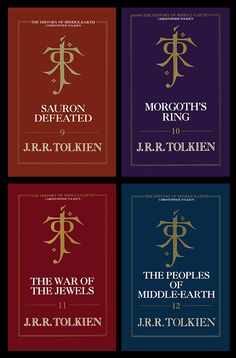 ~ The History Of Middle Earth ~ Christopher Tolkien ~ LOTR ~ Hobbit ~