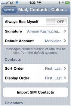 How To Switch Between Email Accounts In iPhone and iPad