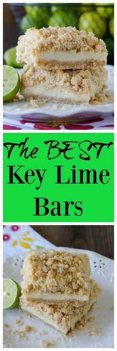The BEST Key Lime Bars
