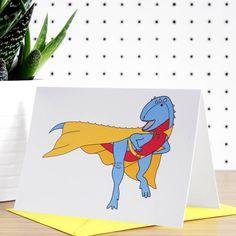 Super Saurus Greeting Card