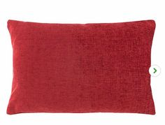 Crafted with soft chenille fabric with a woven effect texture, this rectangular cushion comes in plain red, featuring a machine washable, removable cover and plump polyester filling. Red Cushions, Chenille Fabric, Photoshoot, Throw Pillows, Red Pillows, Toss Pillows, Photo Shoot, Decorative Pillows, Decor Pillows