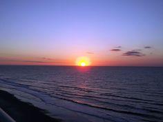 Lovely sunrise taken at Myrtle Beach SC
