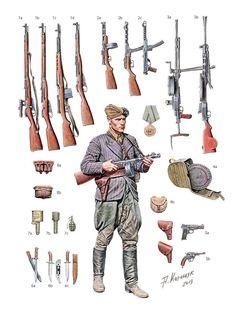 ВОВ. Вооружение пехоты Красной армии