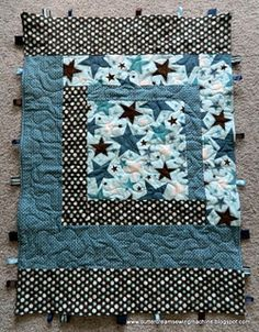 These would make great baby shower gifts, now to learn to quilt.