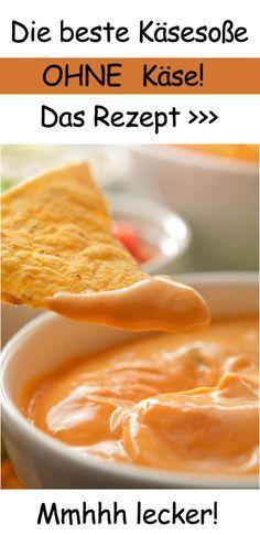 Leckeres Rezept: Käsesoße OHNE Käse (einmal ausprobiert, aber schmeckte nur nach Zwiebeln :-/)