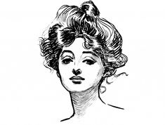 Beautiful Barbara Dorf Four Mid 20th Century Pen And Ink Drawing Portrait Studies To Win Warm Praise From Customers