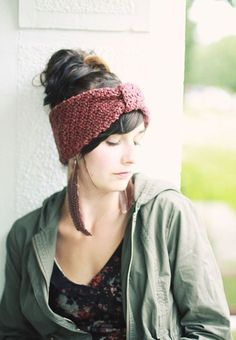 FREE Headwrap crochet pdf. Just oh so lovely, thanks so for sharin' xox