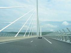 Viaduct Milau, zuid Frankrijk.