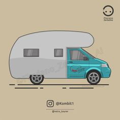 KombiT1: Volkswagen T5 @retro_tourer